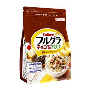 カルビー フルグラ チョコクランチ&バナナ 600g 6コ入り 2021/04/05発売 (4901330744618)