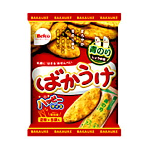 栗山米菓 ばかうけ(青のり) 10枚 20コ入り (4901336101033)