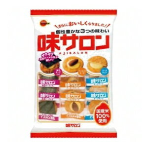 ブルボン 味サロン 16枚 12コ入り 2017/09/05発売 (4901360326662)