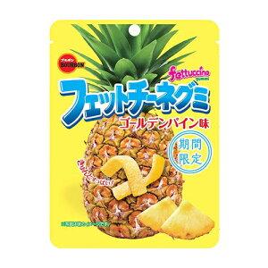 ブルボン フェットチーネグミ ゴールデンパイン味 50g 10コ入り 2021/06/15発売 (4901360339693)