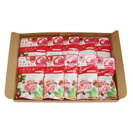 (全国送料無料) クラシエ ふわりんかソフトキャンディ(ストロベリーローズ味) 32g 10コ入り メール便