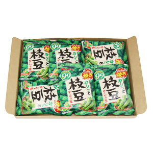 (全国送料無料)ギンビズ 枝豆ノンフライ焼き 20g×6袋 1コ入り メール便 (4901588800104sm)