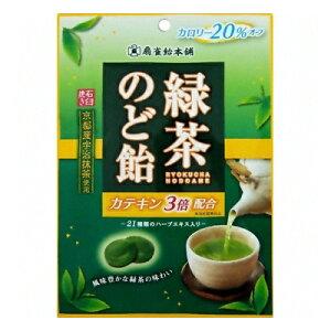 扇雀飴 緑茶のど飴 100g 6コ入り (4901650221523)