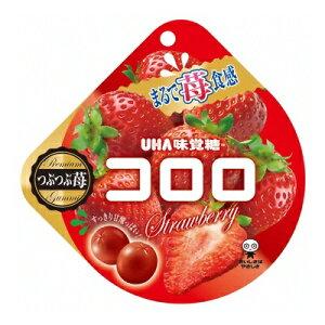 UHA味覚糖 コロロ ストロベリー 40g 72コ入り 2019/12/09発売 (4902750659742c)
