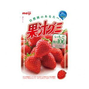 明治 果汁グミいちご 10コ入り (4902777079752)