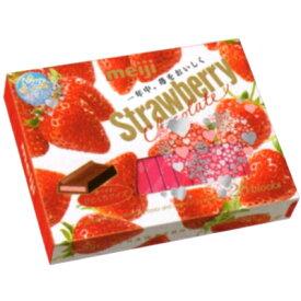 明治 ストロベリーチョコレート BOX 26枚 6コ入り 2017/01/03発売