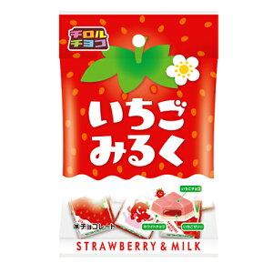 チロルチョコ いちごみるく〈袋〉 7個 10コ入り 2021/03/01発売 (4902780042323)