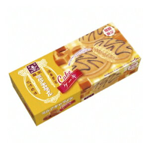 森永製菓 ミルクキャラメルケーキ 6個 30コ入り 2020/06/02発売 (4902888244667c)