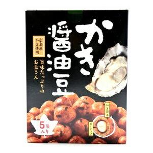 モウリ かき醤油豆 5袋 12コ入り (4562382570619c)
