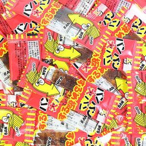 (全国送料無料) ケイエスカンパニー おやつ箱ミニ バンバン大バンするめ板ミニ 100コ入り メール便 (4582169434392sx100m)