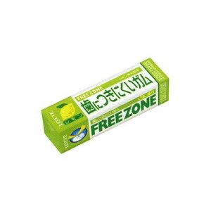 ロッテ 歯につきにくい、フリーゾーンガム(レモン) 9枚×15コ入り (45148576)