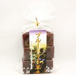 森田 ブルーベリー羊羹(ようかん) 48g×6個入り (常温) (4960052450382)