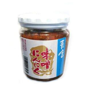 (単品) 森田製菓 青唐味噌にんにく 瓶 200g