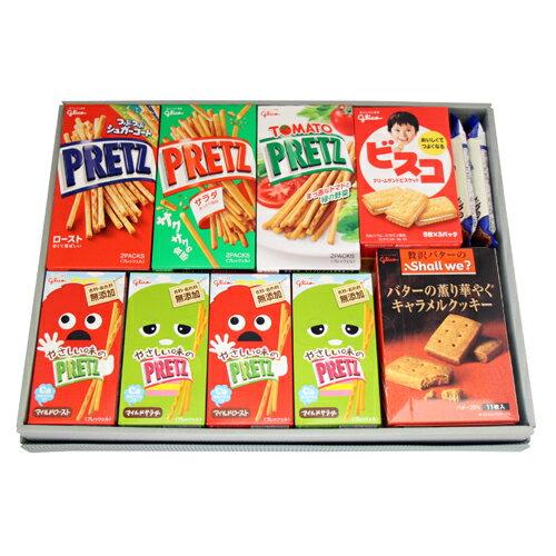 おかしのマーチ グリコ菓子(12種・19コ)ギフトセット A