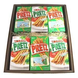 おかしのマーチ グリコ プリッツ サラダ トマト (2種類・計12個) ギフト セット A (omtma0957)