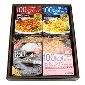(地域限定送料無料) おかしのマーチ 大塚食品 マイサイズ シリーズ(パスタソース・ビビンバ・リゾット) 6種類・9個 マンナンごはん 2個 (計11個) ギフト セット E (omtma1004k)