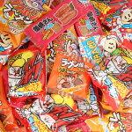 (送料無料)おかしのマーチ駄菓子・小袋スナックセットW(5種・計65コ入)