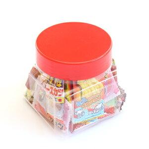 (地域限定送料無料) ちょっとプレゼントに・・・かわいい容器に入った駄菓子セット A【31コ入】 おかしのマーチ (omtma7222k)