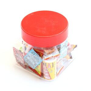 (地域限定送料無料) ちょっとプレゼントに・・・かわいい容器に入った駄菓子セット B【21コ入】おかしのマーチ (omtma7223k)