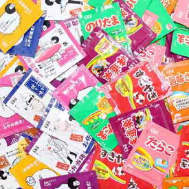(全国送料無料)1,000円ポッキリ!おかしのマーチ お弁当諸君! + のりたま&バラエティー ミニパックふりかけセット(2種各20袋・計40袋) メール便