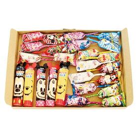 (全国送料無料) グリコ ディズニーお菓子セット(3種・計25コ) メール便