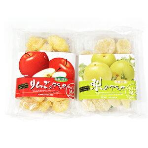 (全国送料無料) 森田製菓 りんごのグラッセ & 梨のグラッセ セット おかしのマーチ メール便 (omtmb5830)