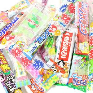 (全国送料無料) 2000円ぽっきり! 弾力系もちもち駄菓子セット A おかしのマーチ メール便 (omtmb6773)