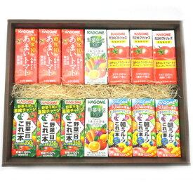 カゴメの野菜ジュースギフトセットC (5種・全14本)