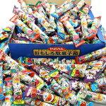 おかしのマーチやおきんうまい棒200本入りおもしろ駄菓子箱セット