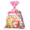 おかしのマーチ お菓子詰め合わせ 250円 花柄袋 (Aセット)