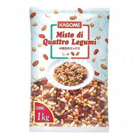 (地域限定送料無料) UCC業務用 カゴメ 4種豆のミックス 1kg 6コ入り(冷凍)