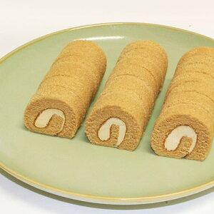 (地域限定送料無料) 業務用 日東ベスト 細巻ロールケーキ(黒糖きなこ) 210g 8コ入り(冷凍) (270901663ck)