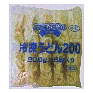 (地域限定送料無料) UCC業務用 お店のための 冷凍うどん 200g×5玉 4コ入り(冷凍) (295128000c)