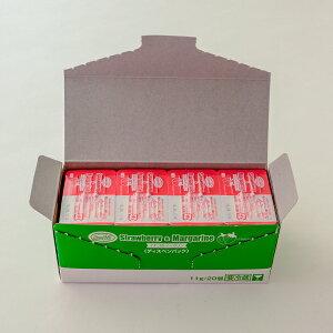 (地域限定送料無料)業務用 グリーンフィールド イチゴ&マーガリン 11g×20個 1ケース(20入)(計400個)(冷蔵)(713166000ck)