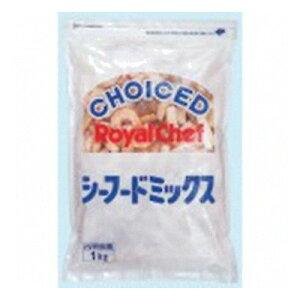 (地域限定送料無料) (単品) 業務用 ロイヤルシェフ シーフードミックス 800g(氷衣込重量1kg)袋 (760265000sk)