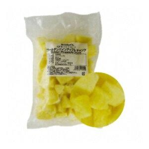 (地域限定送料無料) (単品) UCC業務用 ハーダース IQFカットフルーツ ゴールデンパインアップルチャンク 500g(冷凍)