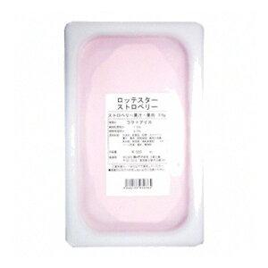 (地域限定送料無料) (単品) 業務用 ロッテアイス ロッテスター ストロベリー 4L(冷凍) (768948000sk)