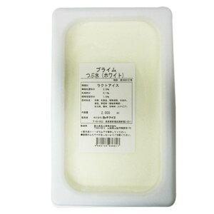 (地域限定送料無料) UCC業務用 ロッテアイス プライム つぶ氷(ホワイト) 2000ml 4コ入り(冷凍) (769102609c)