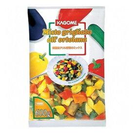 (地域限定送料無料) UCC業務用 カゴメ 菜園風グリル野菜のミックス 600g 10コ入り(冷凍)
