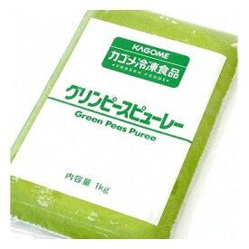 (地域限定送料無料) UCC業務用 カゴメ グリンピースピューレー 1kg 5コ入り(冷凍)