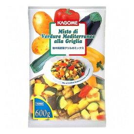 (地域限定送料無料) 業務用 カゴメ 地中海野菜グリルのミックス 600g 10コ入り(冷凍) (789232000ck)