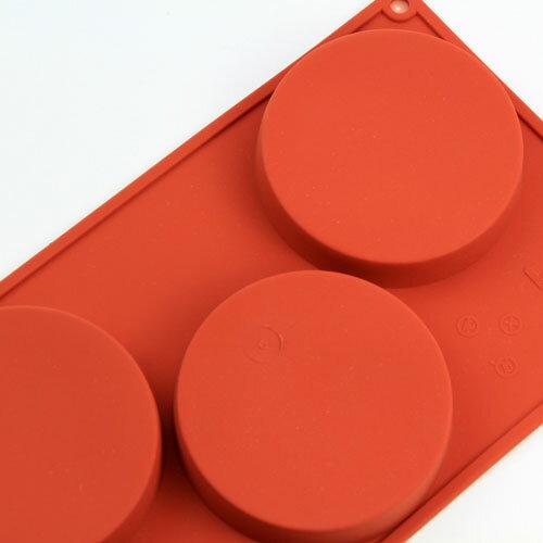 シリコンフレックス スポンジベース3ヶ付 SF-042  シリコン型 ケーキ型