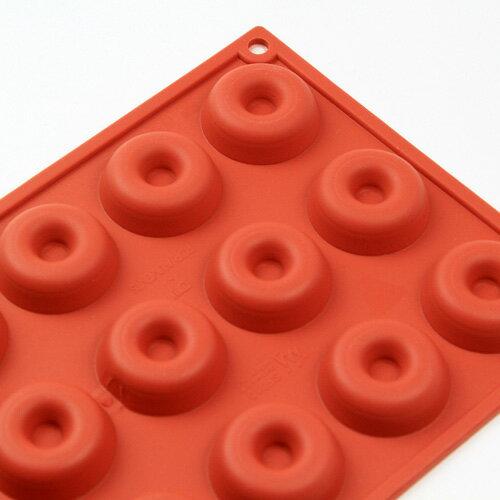 シリコンフレックス サバラン型18ヶ付 SF-010 シリコン型  ケーキ型 エンゼル型 リングケーキ