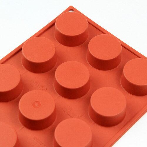 シリコンフレックス プチフール型15ヶ付 SF-027  シリコン型 ケーキ型
