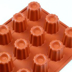 シリコンフレックス カヌレ型18ヶ付 SF-033  シリコン型 ケーキ型 お菓子