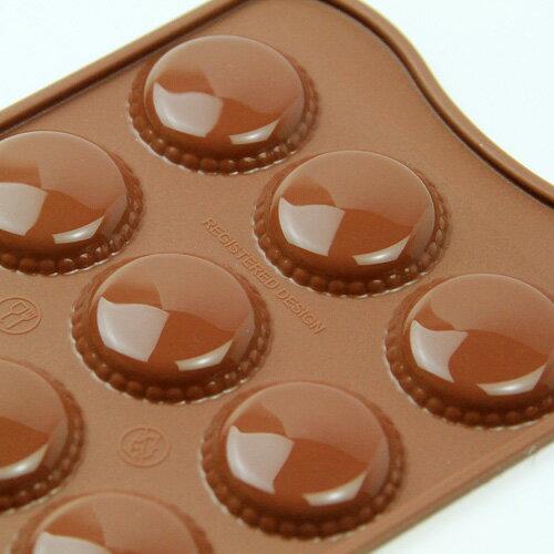 チョコレート型 シリコンモールド Choco macarona(マカロン)SCG021 チョコ型 チョコレートモールド  ケーキ型 モルド