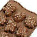 チョコレート型 シリコンモールド spring life(スプリングライフ)SCG024 チョコ型 チョコレートモールド  ケー…
