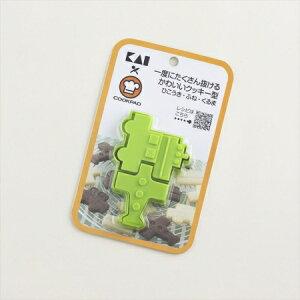 一度にたくさん抜けるかわいいクッキー型 ひこうき・ふね・くるま DL-8003 お菓子