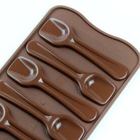 チョコレート型 シリコンモールド Choco Spoons(チョコスプーン)SCG028 チョコ型  ケーキ型 モルド お菓子