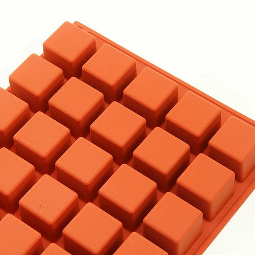 シリコンフレックス マイクロキューブ 40ヶ付 SF-263 シリコン型 ケーキ型